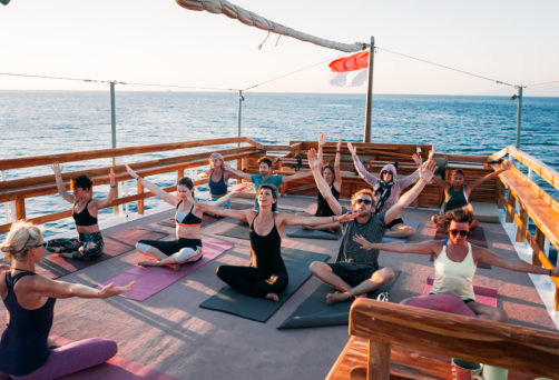 Yoga & Cocktail Cruise