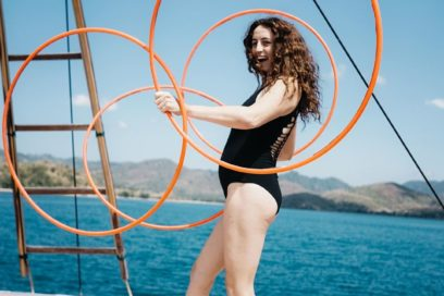 Artist Exchange: Hula Hoop Magic